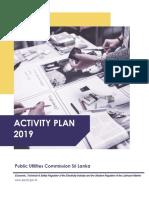 Activity Plan for Publication