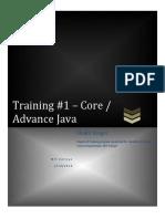 Java Training Report