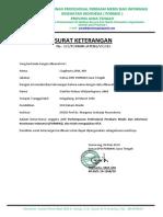 Surat Keterangan Dpc
