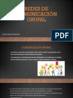 Redes de comunicación grupal