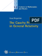 The Cauchy Problem in General Relativity [Ringstrom].pdf
