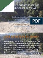 4.Acierre de minaslgunas Reflexiones Sobre C.F.M - Omar Gallardo Gallardo