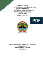 JUKNIS BANKEU Rtlh 8Maret2018 (Tanpa Lampiran)