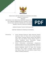 PMK No. 6 Ttg Tunjangan Bahaya Radiasi PNS Pekerja Radiasi BIDKES