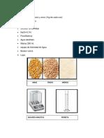 Materiales y Metodos Cereales Informe 2
