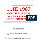 Political Law Codal Outline