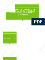 Sistema de Control de Estabilidad de Sub-level Stopping