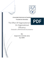Articulo 3 - The Effect of Organizational Culture on Organizational