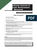 Nine Challenges for e Governemtn Action Researchers