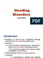 Hemophilia-bleeding Dx Approach