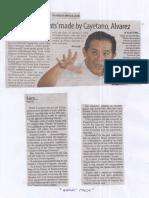 Manila Standard, May 23, 2019, Sara bares threats made by Cayetano, Alvarez.pdf