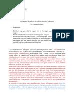 English Text - Homework