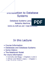 Lecture 1 DBMS