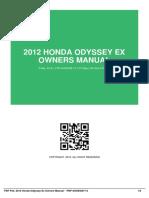 ID4534501f8-2012 honda odyssey ex owners manual