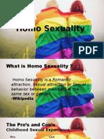 Defense - Homo Sexuality