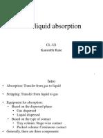 Ch4 Gas Liqd Absorptn