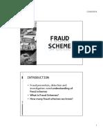 Student Fraud Scheme