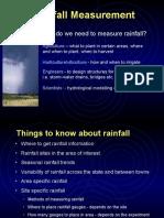 Rainfall Measurements