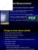 Rainfall Measurements