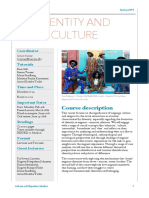 Identity and Culture - Spring 2019-060219