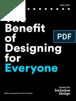 Inclusive Design Infographic Report Digital