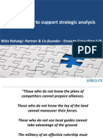 Leveraging CI to Support Strategic Analysis