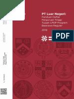 Daftar Perguruan Tinggi Tujuan Luar Negeri Beasiswa Reguler 2019 20 Mei 2019