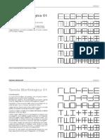 Tavole Morfologice - Graphic Design