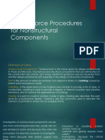 Lateral Force Procedures for Nonstructural Components