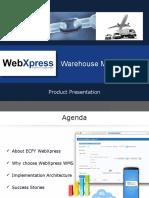 WebXpress WMS Solutions