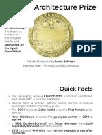 Pritzker Laureates