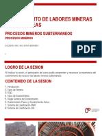 Semana 07-Sostenimiento de Labores Mineras Subterraneas