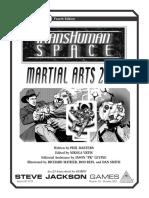 GURPS 4th - Transhuman Space - Martial Arts 2100