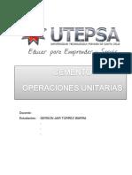 Operaciones Unitarias de Fabricacion de Cemento
