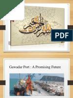 Gawader port a mpromissing future