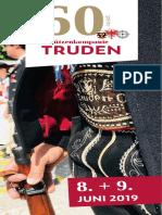 60 Jahre SK Truden Faltprospekt