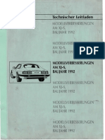 Modellverbesserung AM XJ-S Baujahr 1992 Technischer Leitfaden