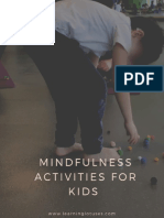 Mindfulness Activities for Kids 1