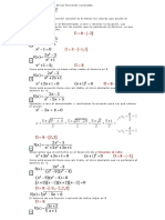 dominio y rango funciones