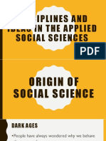 1 Origin of Social Science