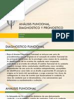 Analisis funcional, diagnostico y pronostico