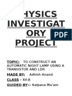 336619295 Class 12 Physics Project File