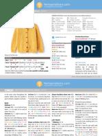 10138739 Adult's Crochet Crew Neck Cardigan in Caron Downloadable PDF 2