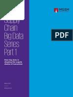 Big Data Analytics Supply Chain Performance