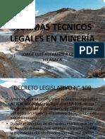 Normas Técnicos Legales en Minería-1
