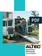 Altec Catalogue Wheelchair Access Ramps