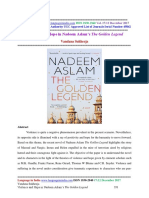 Violence and Hope in Nadeem Aslam's 'The Golden Legend'