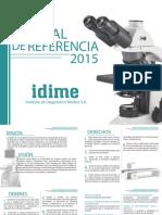 Manual de Referencia Idime 2015