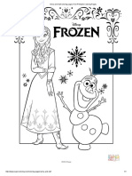 Frozen - Coloring Book - 1 to 12 pages.pdf | Disney ...