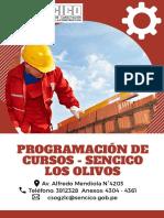 Programación Educativa 2019 - SENCICO LOS OLIVOS